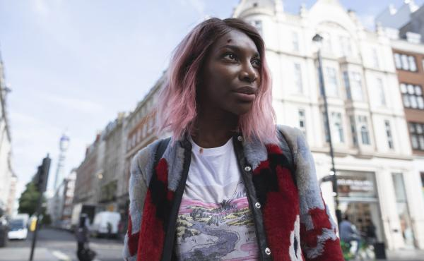 Michaela Coel plays Arabella in the HBO drama she created, I May Destroy You.