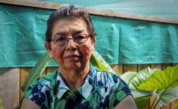 Lucía Cerna worked as a housekeeper at the José Simeón Cañas Central American University in El Salvador. On Nov. 16, 1989, she witnessed armed soldiers kill six Jesuit priests, a cook and a teenage girl.