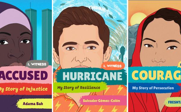 The new children's nonfiction series I, Witness aims to help young readers grasp world events that might otherwise feel abstract. The books feature first-person accounts co-edited and curated by Dave Eggers.