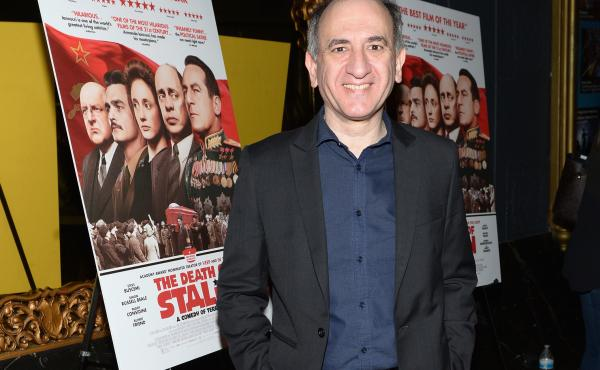 Armando Iannucci at the Los Angeles premiere of The Death of Stalin.
