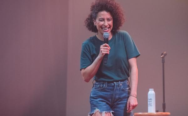 Comedian and actor Ilana Glazer strikes out solo in her new hour-long special, The Planet Is Burning, set to release on Amazon Prime Video in January.