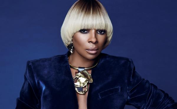 """""""It's a responsibility being Mary J. Blige,"""" the singer says."""