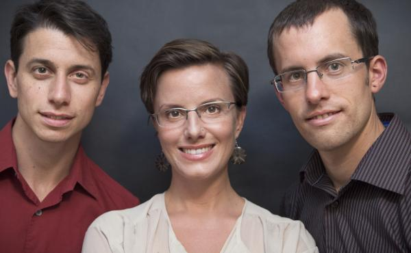 Joshua Fattal (from left), Sarah Shourd and Shane Bauer were on a hike in 2009 when they unknowingly crossed a road that bordered to Iran. They were stopped by border patrol and imprisoned in Tehran.