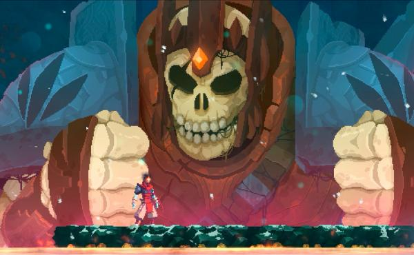 This is not a representation of what 2020 felt like — it's a screen shot from Dead Cells.