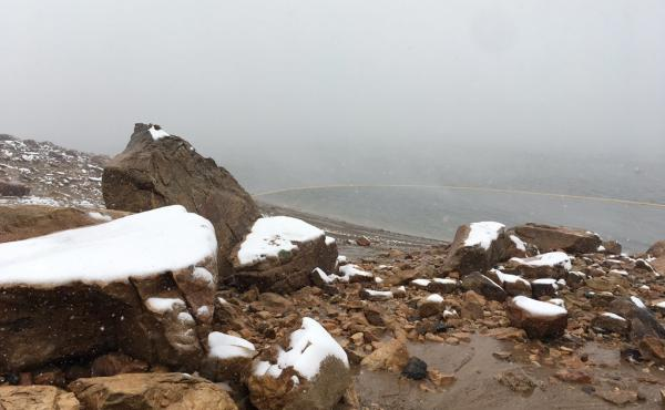 On Tuesday, snow fell on parts of Colorado – including Horsetooth Reservoir, near Fort Collins. On Sunday, it was around 100 degrees in Fort Collins.