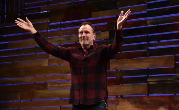 """I'm a comedian. I'm not here to be agreed with,"" says Colin Quinn. ""In fact, if you came up to me and said, 'You're not funny, but I agree with you,' I'd be offended because I'm here to make people laugh. ... It's much more powerful than somebody agreein"