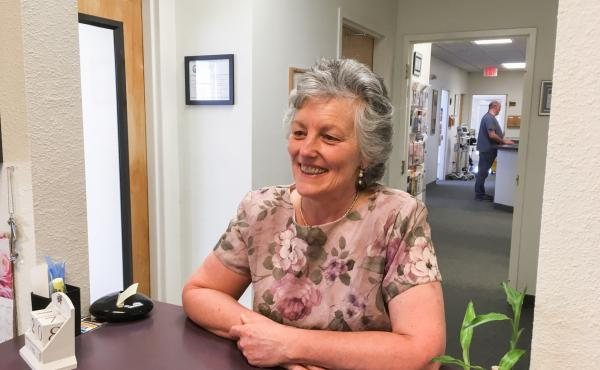 Greta Elliott, who manages a health clinic in Canby, Calif., says she didn't buy health insurance for herself because she thinks it's too expensive.