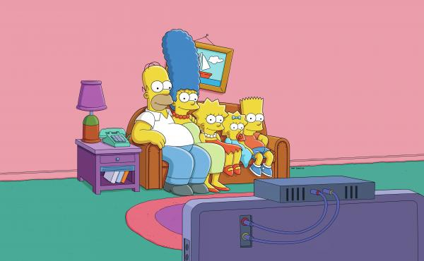 A new digital platform called Simpsons World features all 25 years of episodes. FX says it is trying to cater to both old-fashioned TV fans and people who watch shows on other devices.