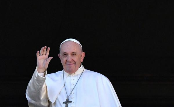 Pope Francis called for compassion toward migrants in a Christmas Day speech from the balcony of St. Peter's Basilica in Vatican City.