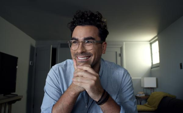Dan Levy performs the most effective of the five monologues in HBO's Coastal Elites.