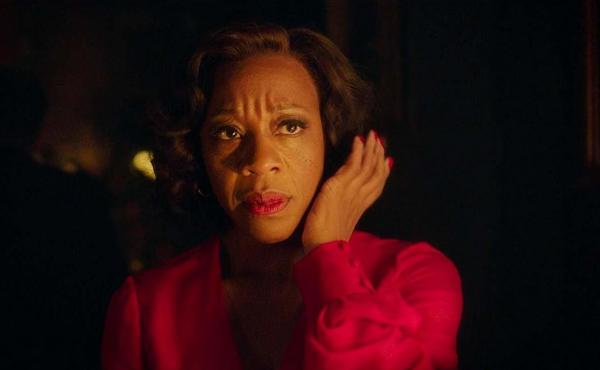 In Fabric stars Marianne Jean-Baptiste as Shelia who falls prey to a killer deal on a killer dress.