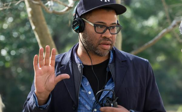 Writer/director/producer Jordan Peele on the set of Universal Pictures' Get Out.