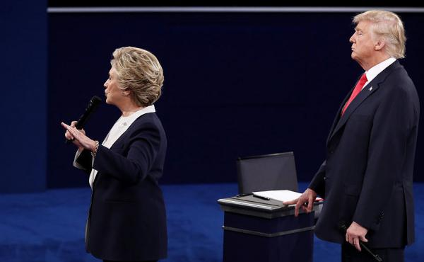 Hillary Clinton and Donald Trump met for their second debate Sunday evening at Washington University in St. Louis.