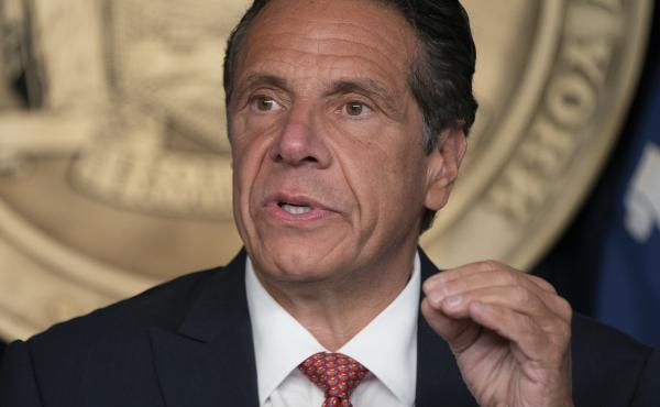 Andrew Cuomo is resigning as New York's governor at 11:59 p.m. ET Monday.