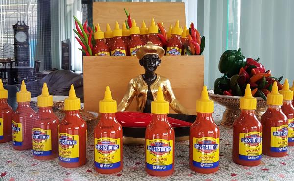 Sriraja Panich is the brand name of one of two Sriracha sauces created by Saowanit Trikityanukul's family. The family sold the brand to Thaitheparos, Thailand's leading sauce company, in the 1980s. The brand has struggled to gain a foothold in the U.S., w