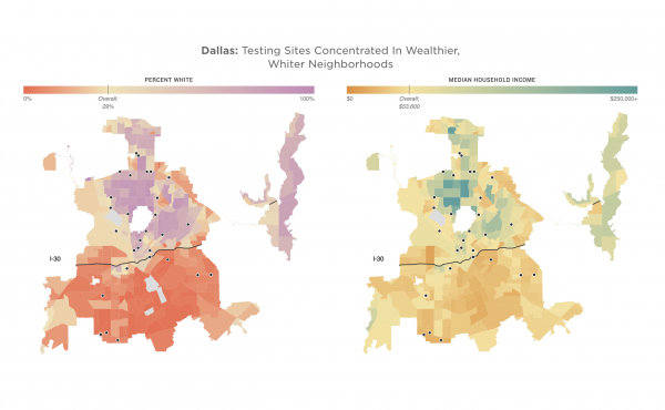 maps of Dallas