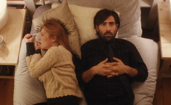 Josephine de la Baume and Jason Schwartzman in Listen Up Philip.