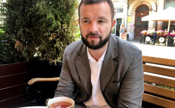 Vitali Shkliarov, 41, was one of the organizers behind a campaign to field 1,000 independent candidates to fill Moscow's lowest elected offices. In last month's election, opposition candidates won majorities in 30 of Moscow's 125 local district councils.