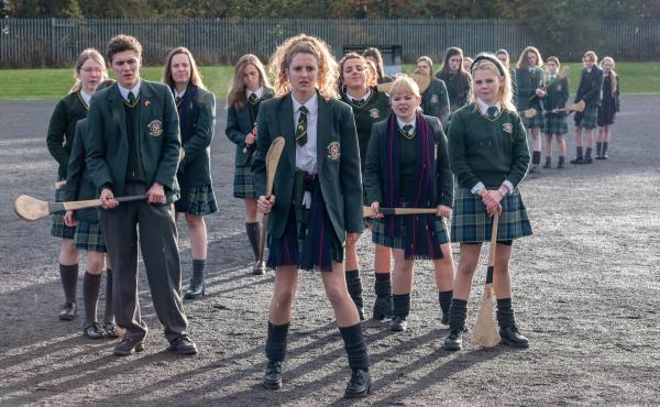 "Derry Girls follows five teenagers in a Catholic school in Northern Ireland during the 1990s. ""This show, it's very Derry, in all the right ways,"" says Derry Girls fan Gilly Campbell. ""It's put Northern Ireland on the map for all the right reasons."""
