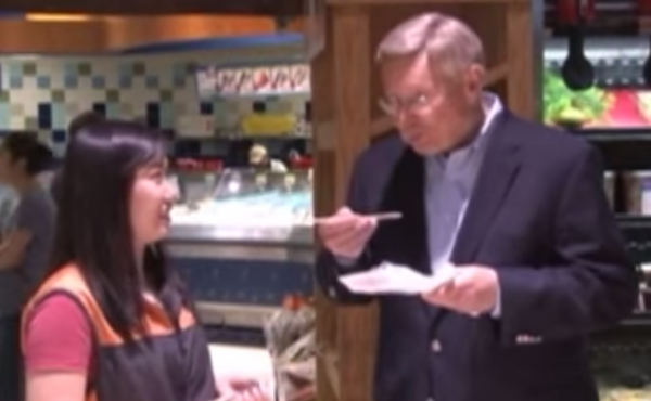 In a campaign ad from John Foust, the candidate tries to appeal to Korean voters.