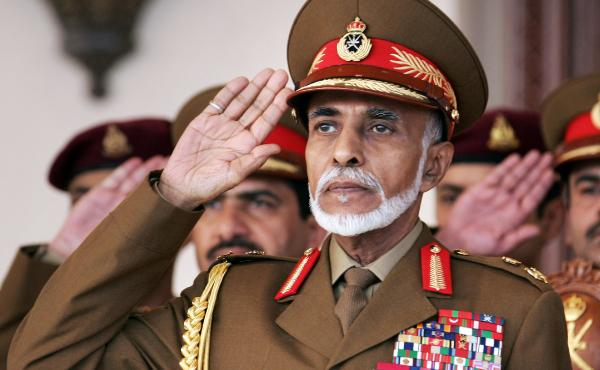 Sultan Qaboos bin Said, 73, salutes during a military parade in the capital Muscat on Oman's national day in November 2013. Qaboos, who has ruled for 44 years, has maintained friendly relations with everyone from the U.S. to Iran. However, he has been abr