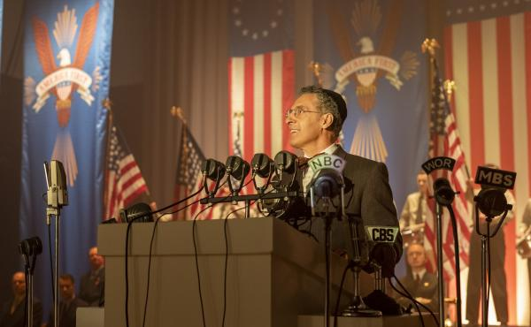 """John Turturro plays Rabbi Lionel Bengelsdorf in The Plot Against America, a limited HBO series based on Philip Roth's 2004 novel. """"Every one of the characters struggles with that question of: Where do you stand in an America that is transforming itself in"""