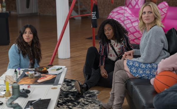 Gina Rodriguez, DeWanda Wise and Brittany Snow star in Someone Great.