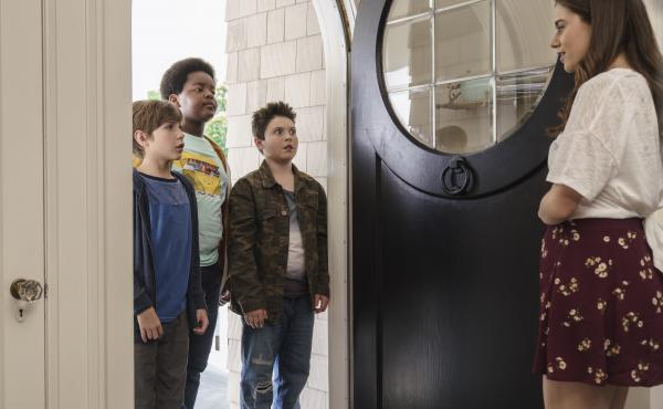 Good Boys is a raunch-filled, F-bomb-laden, almost-coming-of-age comedy directed by Gene Stupnitsky and produced by (shocker) Seth Rogen.
