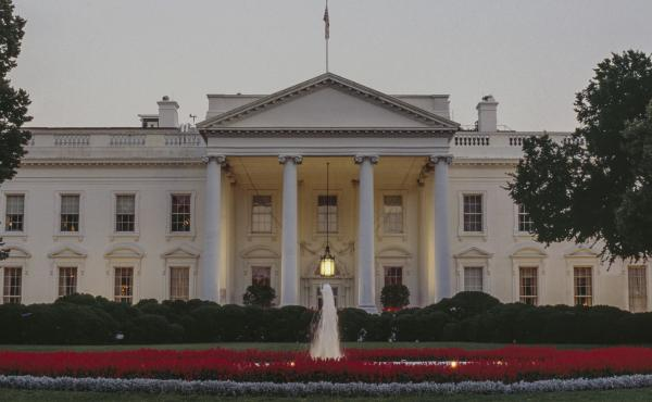 North facade of the White House in Washington D.C.