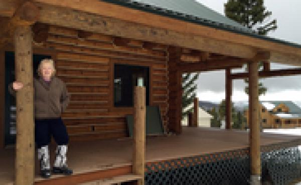 """Theresa Mondale, a broker with United Country Real Estate in western Montana, says her sales of off-grid, """"survivalist"""" properties have risen by 50 percent over the last several years."""