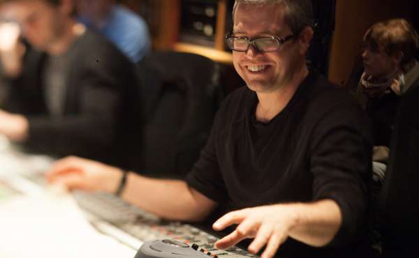 Composer John Powell, in a photo taken by his late wife Melinda Lerner.