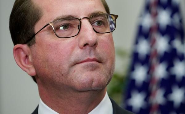 Health and Human Services Secretary Alex Azar announced federal approval for changes to Indiana's Medicaid program Friday in Indianapolis.