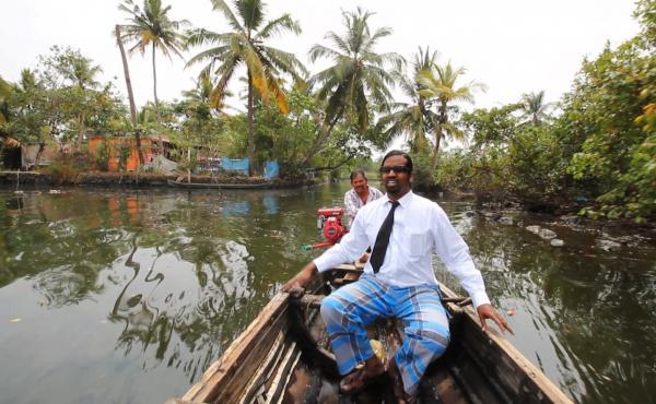 Wilbur Sargunaraj tours the backwaters of Kerala, India.