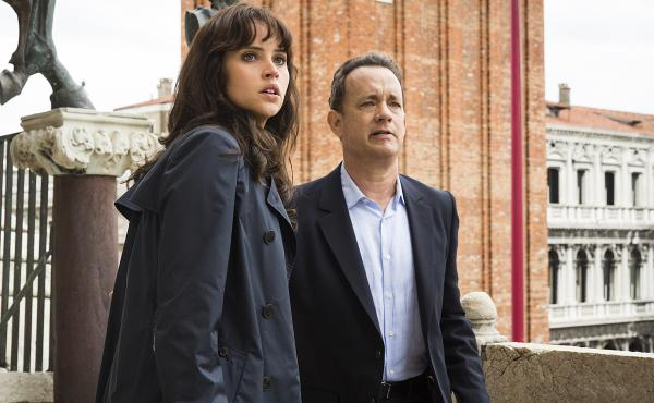 Tom Hanks and Felicity Jones star in Inferno, a film based on the book by Dan Brown, author of The Da Vinci Code.