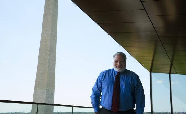 Lonnie G. Bunch III, shortly after he was named Smithsonian Secretary in 2019