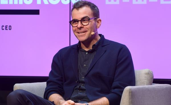 "Instagram's Adam Mosseri speaks onstage at the WIRED25 Summit 2019 in San Francisco. He said some users will no longer see the ""like"" counter, but it won't impact ""the whole U.S. at once."""