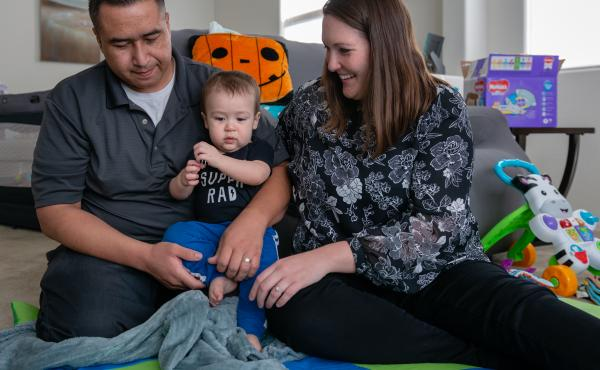 Robert and Tiffany Cano of San Tan Valley, Ariz., have a new marriage, a new house and a 10-month-old son, Brody. Since Brody was born, the Canos have racked up nearly $12,000 in medical debt.