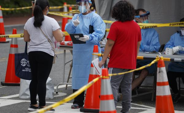 Some cities, such as Washington, D.C. are offering free coronavirus testing for people who've attended protests. Where free tests aren't available, some people may find insurance refuses to cover precautionary testing.