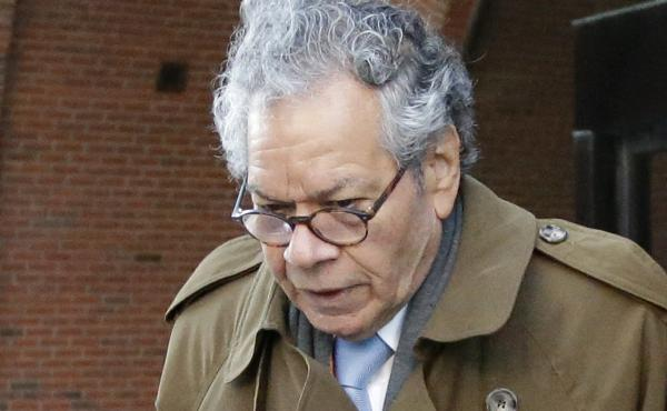 Insys Therapeutics founder John Kapoor departs federal court in Boston, Jan. 30. On Monday the company filed for Chapter 11 bankruptcy, saying it needs to sell its assets to pay back creditors. Kapoor, who was convicted last month of racketeering, owns mo