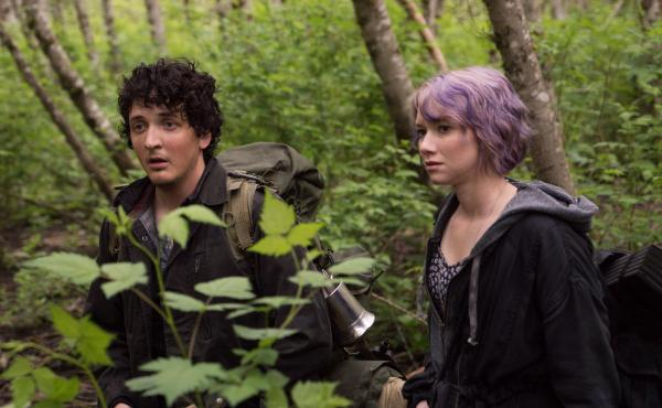 Nobody Puts Baby in a Corner: Lane (Wes Robinson) and Talia LIons(Valorie Curry) in Blair Witch.