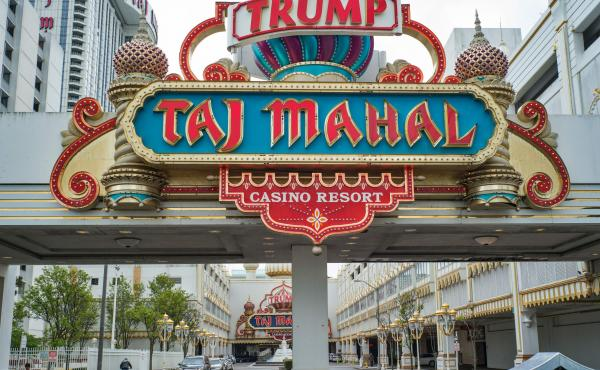 The Trump Taj Mahal  casino resort in Atlantic City, N.J., was cited by federal officials for having inadequate money-laundering controls.
