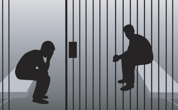 """""""People end up in jail primarily and stay in jail primarily because they don't have the money to pay bail,"""" says Nancy Fishman, a project director at the Vera Institute."""