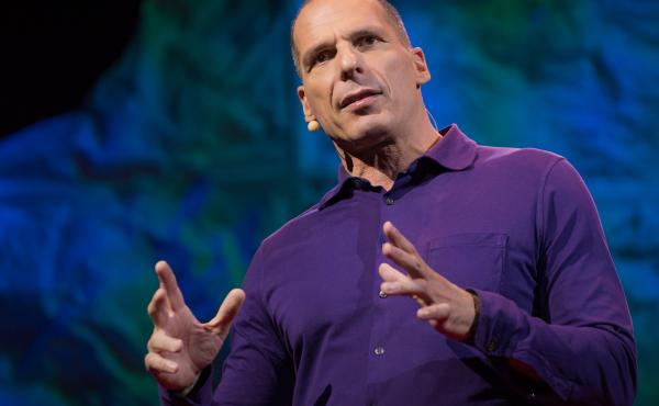Yanis Varoufakis speaks at TEDGlobal.