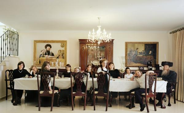 The Weinfeld Family, 2009. Photographer Frederic Brenner, who took this photo, created This Place, an exhibit that features the work of 12 internationally acclaimed photographers in Israel and the West Bank.