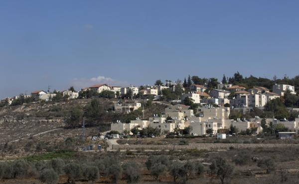 Tuesday's announcement includes plans for new construction in the Israeli settlement of Beit El, near the West Bank city of Ramallah.