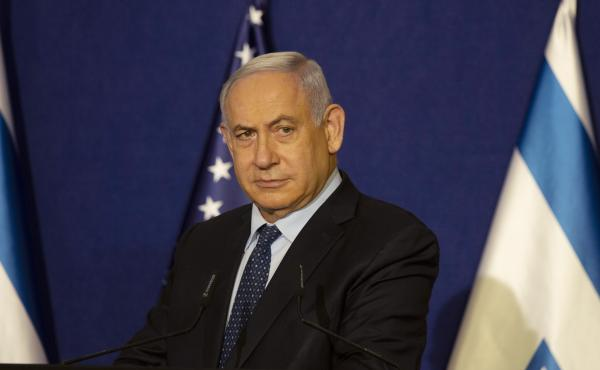 Israeli Prime Minister Benjamin Netanyahu, shown here earlier this month, has reportedly visited Saudi Arabia.