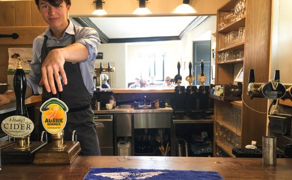 The Packhorse is a pub in the village of South Stoke, in the west of England. Villagers came together to buy back the pub after it had been sold for development into residential and office space.