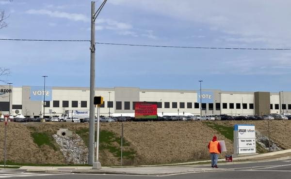 Workers at Amazon's facility in Bessemer, Ala., held a historic vote on whether to form the company's first warehouse union.