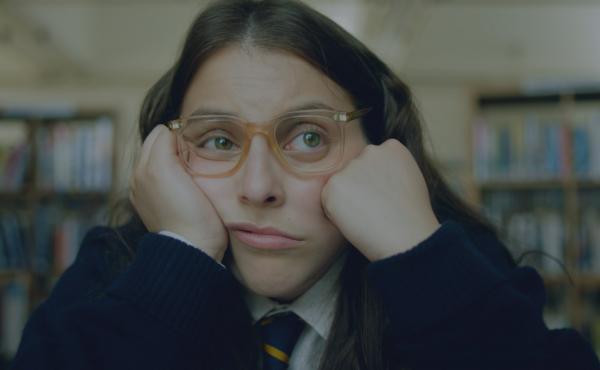Beanie Feldstein stars as Johanna Morrigan in How To Build A Girl, adapted from Caitlin Moran's 2014 semi-autobiographical novel.