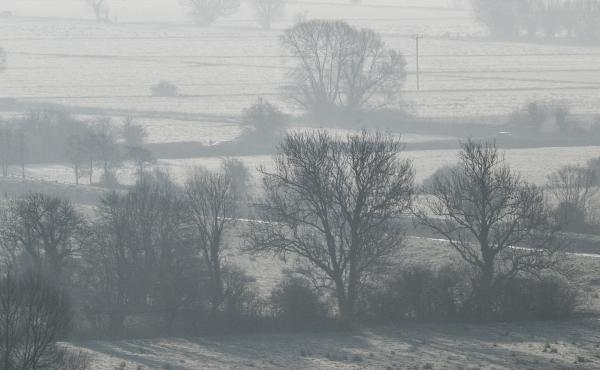 "Forecasters are warning a Siberian Arctic blast nicknamed the ""beast from the east"" is enveloping the U.K. in the coming days. Here the winter sun is seen in Somerset, England on Friday."